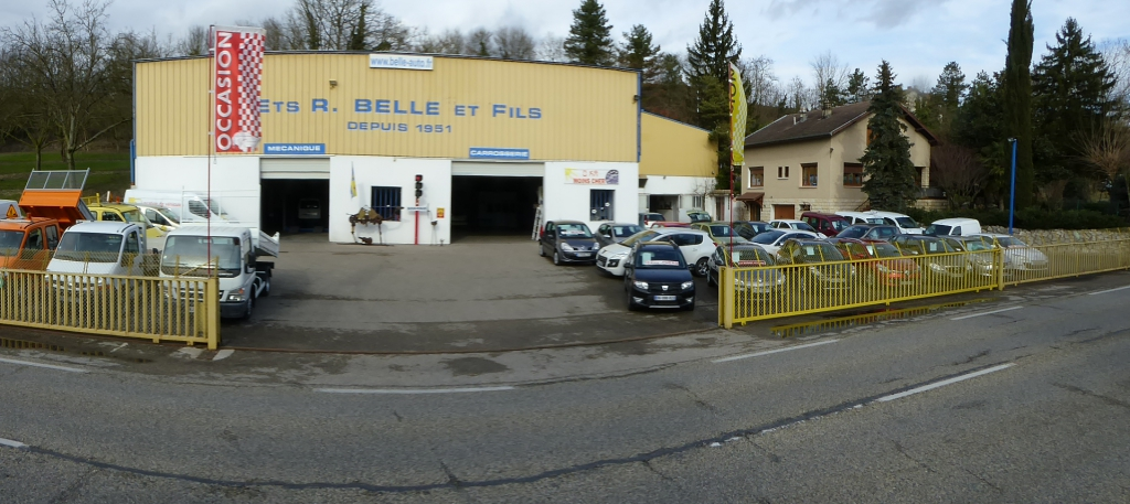 Visite du garage garage belle fils for Garage la belle auto