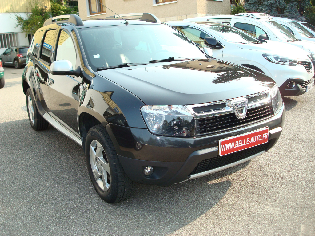 voiture dacia duster prestige 4x4 dci 110 cv occasion diesel 2011 116000 km 9490. Black Bedroom Furniture Sets. Home Design Ideas